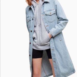 Jean coat